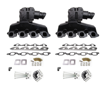 OMC King Cobra Ford 460 7 5L Engine Exhaust Manifold and Riser